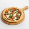 Пицца пармеджано меланзана с копчеными томатами