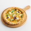 Пицца четыре сыра из фермерских сыров