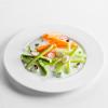 Овощные палочки со сметанным соусом