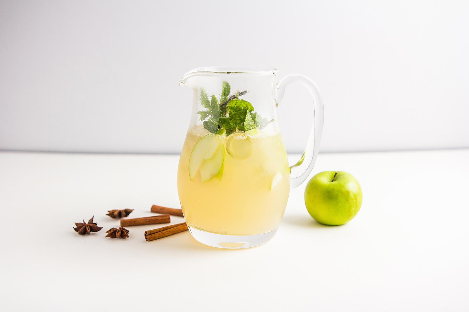 """Домашний лимонад """"Яблочный пунш"""" 0,5л"""