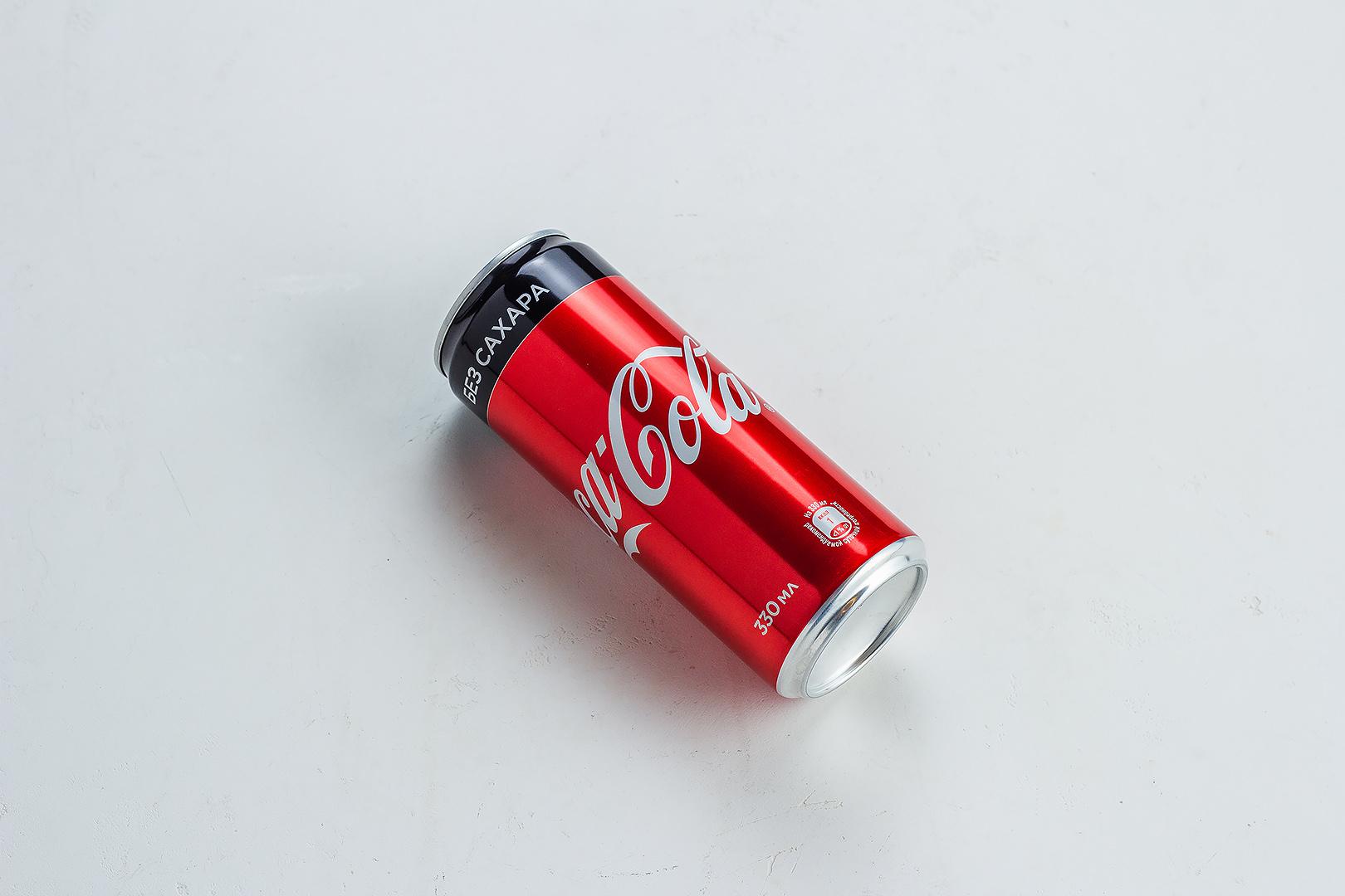 Кока-кола ZERO 0,33л