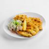 Немецкий шницель с картофельным салатом