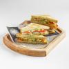 Клаб сэндвич с курицей и беконом